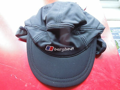 BRAND NEW with tags Berghaus Windstopper Mountain Cap Black Cheapest on Ebay