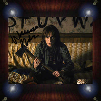 Winona Ryder Stranger Things Series Signed Autographed Framed Photo/Canvas Print
