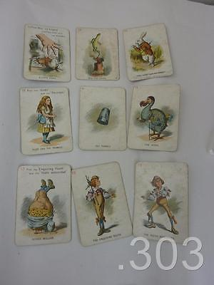 Antique / Edwardian Alice in Wonderland Card Game