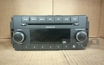 2009 Dodge Charger CD Player Radio RES OEM