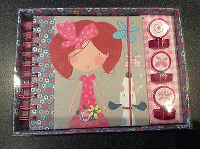 notebook and stamp gift set