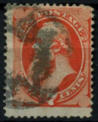 USA 1870-1 SG#151, 7c Stanton No Grill Used #D39786