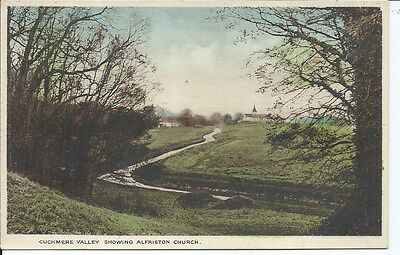 ALFRISTON Church Cuckmere Valley Early Sussex Postcard