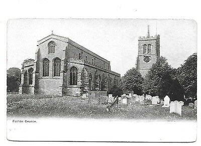 ELSTOW Church Early Bedfordshire Postcard
