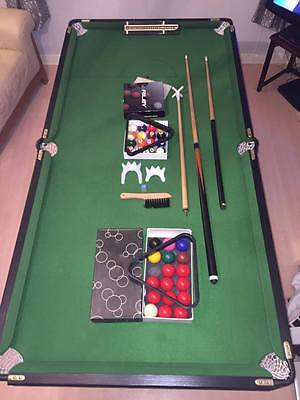 B.c.e Freestanding 6Ft X 3Ft Snooker Table With Accessories.