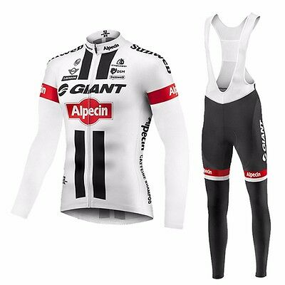 Completo Invernale/Cycling Jersey and pants Team Giant 2016 Thermal Winter