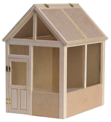 Dolls house garden shed kit 12th scale
