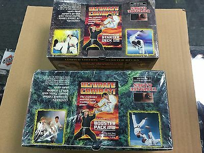 1995 Ultimate Combat Booster & Starter Box Lot CCG Factory Sealed Unopened New