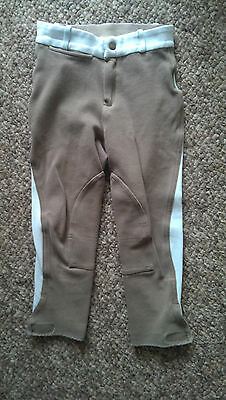 Gorgeous Pale Blue & Mink Fourganze Breeches age 8
