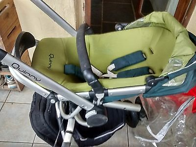 Quinny Buzz 3 travel system - green