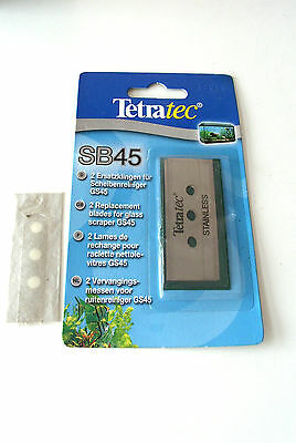 Tetra Tec Sb45 Replacement Blades Pack Of 2 Sealed With 1 Extra Blade For Gs45
