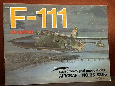 F-111 In Action Aircraft Number 35 Squadron Signal Publications