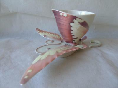 Franz Porcelain Papillon Butterfly Collection Cup & Saucer Set XP1907 by Jen Woo