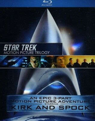 Star Trek: Motion Picture Trilogy [New Blu-ray] Rmst, Restored, Boxed Set, Dol