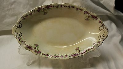 Antique Buffalo Pottery, Rose Garland, Chips, Marked