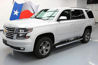 2016 Chevrolet Tahoe  2016 CHEVY TAHOE LT Z71 4X4 8-PASS SUNROOF NAV DVD 22K #165496 Texas Direct Auto