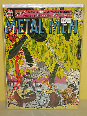 METAL MEN #1 - Rain of the Missile Men - (DC, 1963) - GD - Silver Age