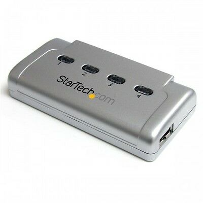 NEW! Startech USB421HS.com 4-to-1 USB 2.0 Peripheral Sharing Switch