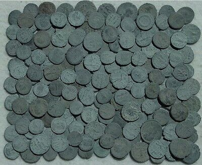 LOT OF 20 X QUALITY ANCIENT ROMAN MIXED COINS/Sizes/Rulers/Mints.