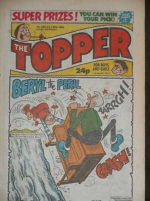 The Topper Comic 30th July 1988 (Issue 1852)