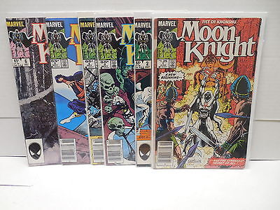 Moon Knight Marvel Comic Books 1-6 Fist Of Khonshu Egyptian Ankh God