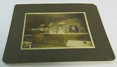 Antique Black Americana Family Cafe Liberty Root Beer Advertising Photograph