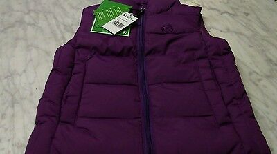 Childrens New Puple Body warmer gilet size 3/4