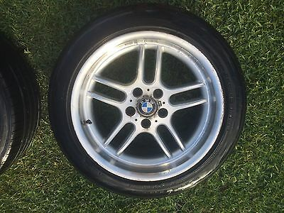"""BMW E38 7-Series 1996-2002 18"""" Wheels and Tyres Set of Four"""