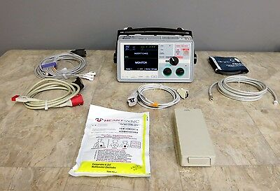 ZOLL E Series 12 Lead ECG NIBP SpO2 ETCO2 CO2 Masimo Pacing Analyze DC POWER m