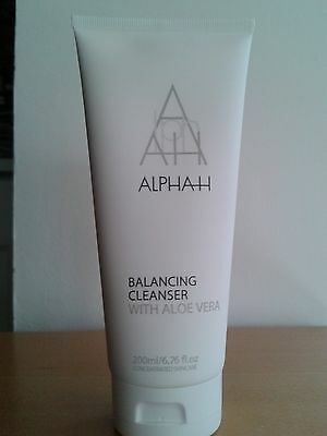 Alpha-H Balancing Cleanser With Aloe Vera 200Ml New & Sealed