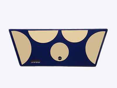 Practice Pad: Tenor Pad: Large Blue Pad with 5 Areas.