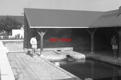 Photo  France Canal 1987 Accolay Wash House