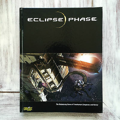 Eclipse Phase RPG Source Book Rulebook Catalyst Game Labs