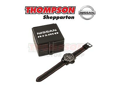 Official Nissan / Nismo Sports Watch with Leather Band
