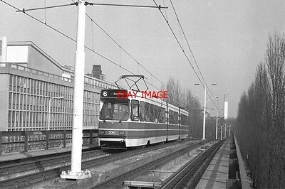 Photo  Netherlands Tram 1986 Ternoot Tram No 3061 On Route 6