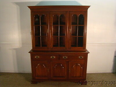 41876 Colonial Furniture Solid Cherry China Cabinet