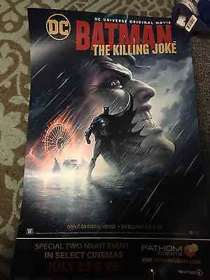 Batman The Killing Joke The Joker Limited Edition Numbered Movie Poster Print