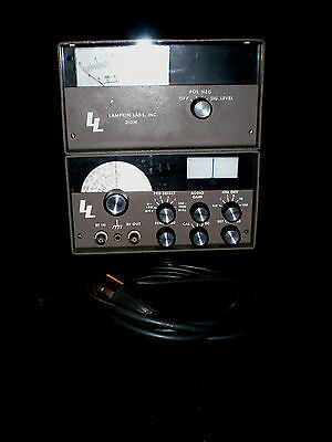 Modulation Monitor/ Receiver,Lampkin Labs 210M - GUWC - new battery