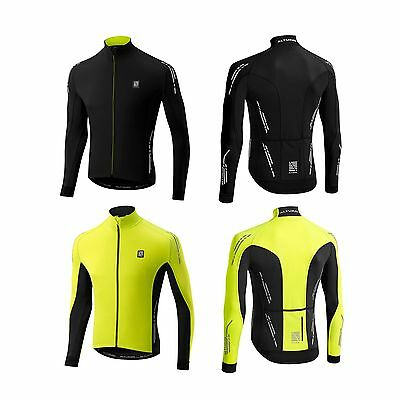 Altura Peloton Night Vision Full Zip Bike/Cycling/Cycle Long Sleeve Jersey/Top