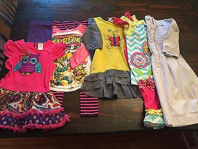 Girls Size 5/6 Clothes Lot School Clothes Excellent Ships Free