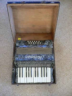 Hoffman (Saxony) Piano Accordion with case
