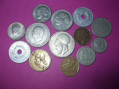 Collection Of World Coins - Greece