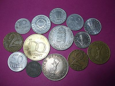 Collection Of World Coins - Hungary