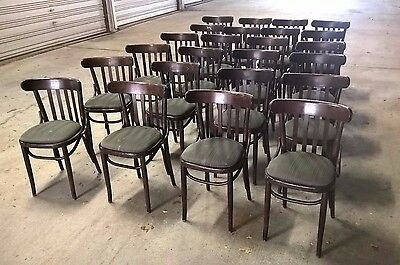 Thonet Bentwood Captains Chairs lot of 24! bar restaurant cafe hospitality