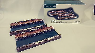 Dept 56 Dickens Abington Canal (Set Of 2) 58535