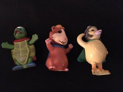 The Wonder Pets Linny Tuck Ming Ming Plastic Figures for Flyboat Bobbleheads