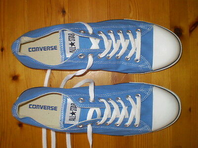 Converse All Star Blue Training Shoes Mens Size Us 13 New