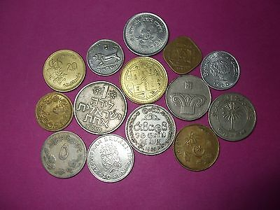 Collection Of World Coins - Middle East