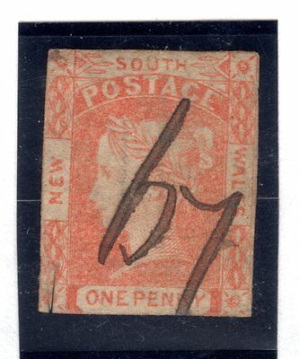 1d laureate with scarce numeral 67 cancel rated RRR Freeman