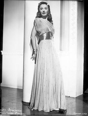 Barbara Stanwyck Stands Tall Glam 8X10 Photo 1461
